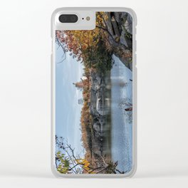 Foliage at Halibut quarry Clear iPhone Case