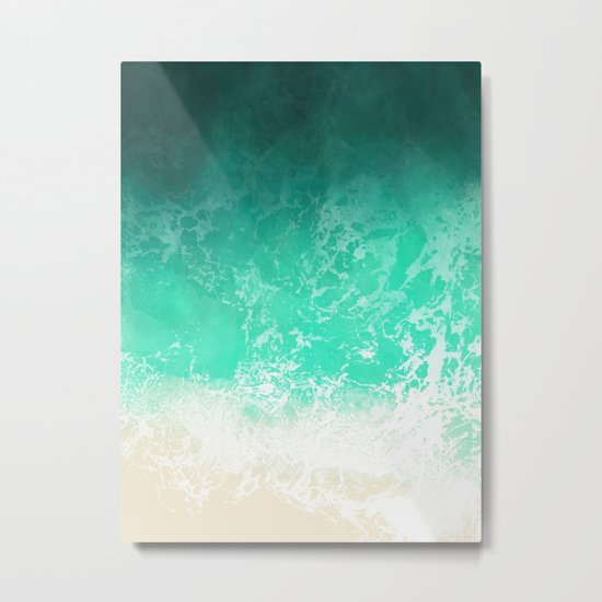 Sea texture Metal Print
