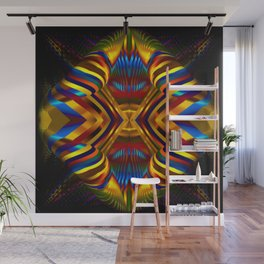 Rainbow Gateway Abstract Wall Mural