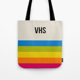 VHS Retro Box Tote Bag