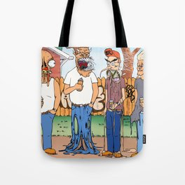 King Of The Hell Tote Bag