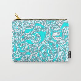 Coastal Country Carry-All Pouch