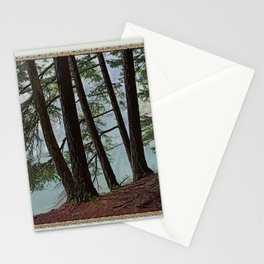 NORTH END OF MOUNTAIN LAKE Stationery Cards
