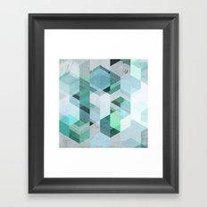 Nordic Combination 22 Framed Art Print
