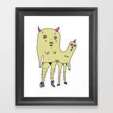 unidos #3 Framed Art Print