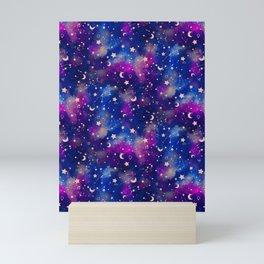 Zodiac - Watercolor Dark Mini Art Print