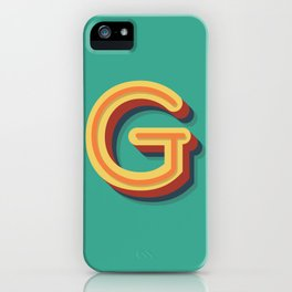 The Letter G iPhone Case