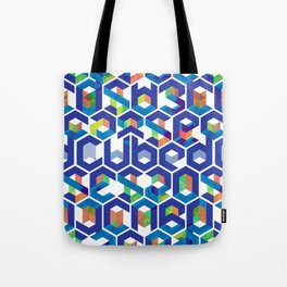 Cubed Balance Tote Bag