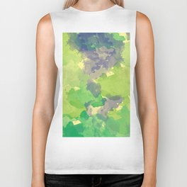 Abstract painting X 0.4 Biker Tank