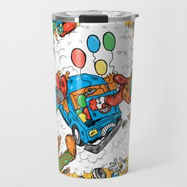When Clown Cars Explode Travel Mug