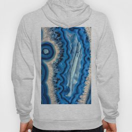 Blue wave Agate Hoody