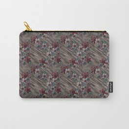 Vintage Rumpled Blossoms Carry-All Pouch
