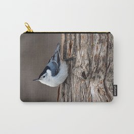 Upside Down Nuthatch Carry-All Pouch