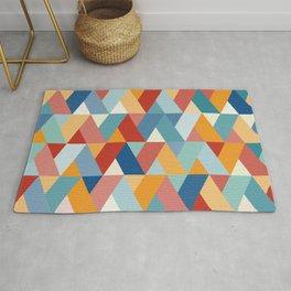 Colorful Geometry V Rug