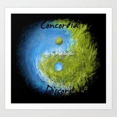 Concordia Discors II Art Print