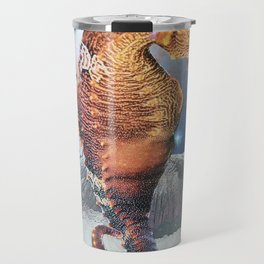 Seahorse in Space Travel Mug