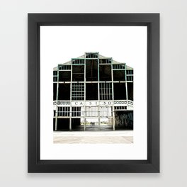 Dancing with Shirts Open Framed Art Print