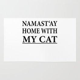 Funny Cat Shirt I Cat Mother Gift Pet Kitten Rug