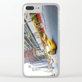 New York Street Scene Clear iPhone Case