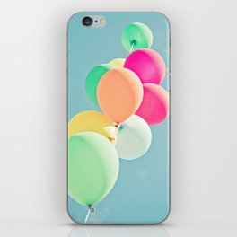 Balloon Mania iPhone Skin