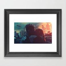 Fringe: Love in the Time of Crossing Over Framed Art Print