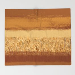 Wheaten Throw Blanket