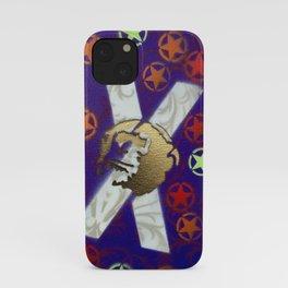 Monky Cross Bones iPhone Case