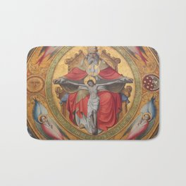 Cologne Cathedral - Altar of the Poor Clares Bath Mat