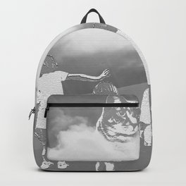 A Cat's Mind (black&white) Backpack