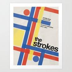 The Strokes Gov Ball Art Print