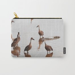 Flush of Ducks Carry-All Pouch