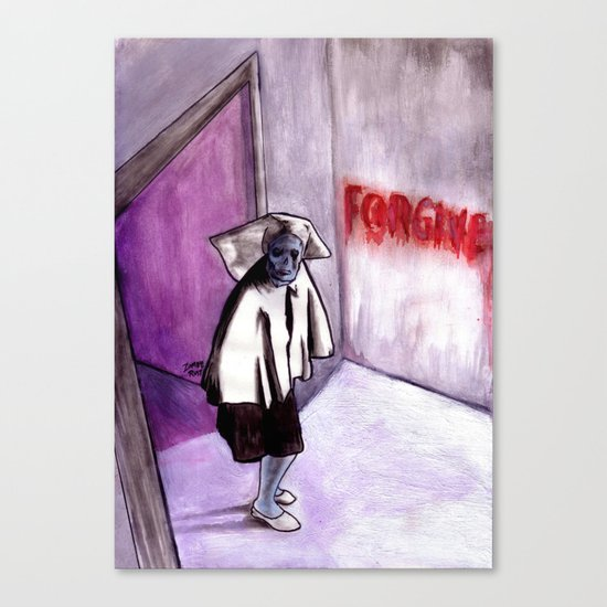 Forgiveness Canvas Print