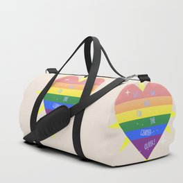 WE 'RE (WITH) THE QUEER! Duffle Bag