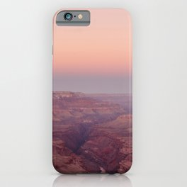 Grand Canyon under a Pink Sky iPhone Case