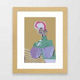 Portrait of Isabella Framed Art Print