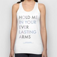 vampire weekend Tank Tops featuring Vampire Weekend - HOLD ME IN YOUR EVERLASTING ARMS by Corrie Jacobs