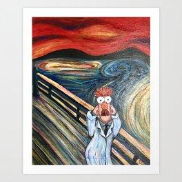 The Meep Art Print