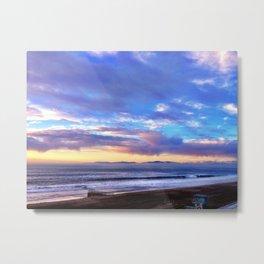 "Redondo Beach ""Post Storm 2"" Metal Print"