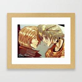 Milou vs Ivan Framed Art Print