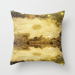 Ice Meltdown. Throw Pillow