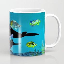 Exploration 3D Aquarium ORCA Coffee Mug