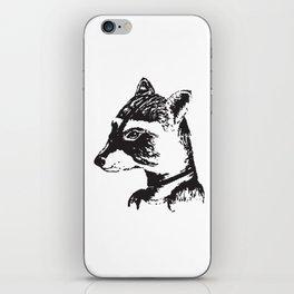 Ms. Raccoon iPhone Skin