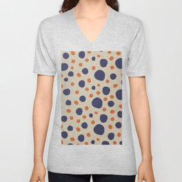 Retro bubbles Unisex V-Neck