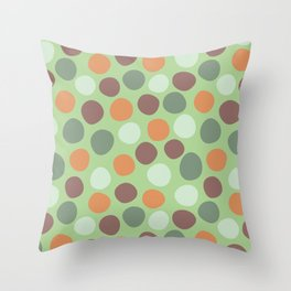 spot coordinate Throw Pillow