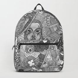 God is an empire Backpack