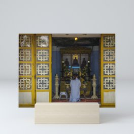 Hue Temple Doorway Mini Art Print
