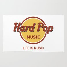 Hard Pop Music Rug
