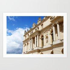 Blue Sky Versailles Art Print