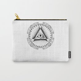 The Triangle-shaped Watcher Carry-All Pouch