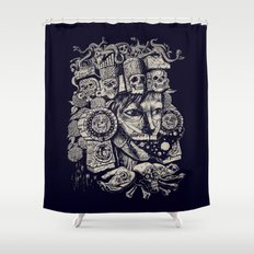 Mictecacihuatl 2 Shower Curtain